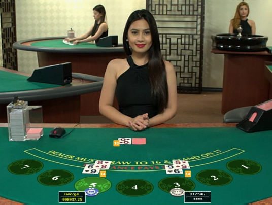 Live Dealer at InterCasino